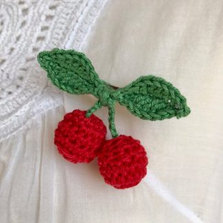 Broche/barrette fruits