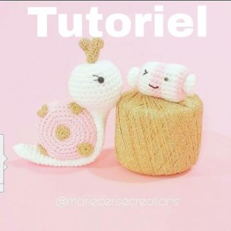Tutoriel margote l'Escargote Amigurumi